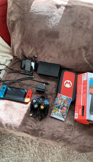 Nintendo Switch w/ Multiple Accessories for Sale in Hillsboro, OR