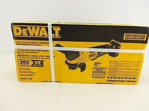 DEWALT 20-Volt MAX XR Lithium-Ion Cordless Brushless 4-1/2 in. Paddle Switch Small Angle Grinder w/ Kickback Brake (Tool-Only) for Sale in Kent, WA