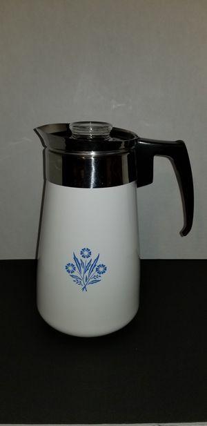 Corningware Cornflower 9 Cup Coffeepot for Sale in Belleville, MI