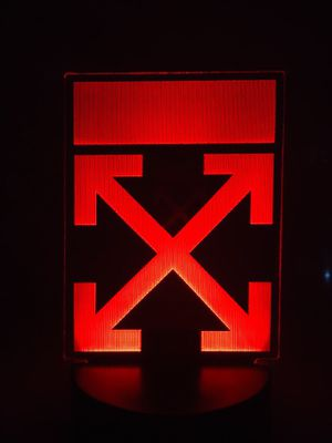 OFF-WHITE ARROWS LOGO CUSTOM LAMP for Sale in Westminster, CA