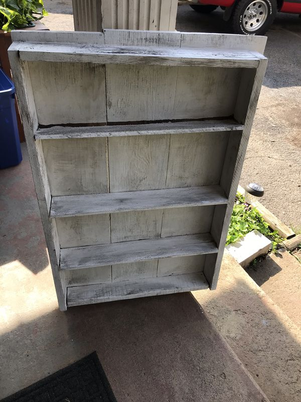 Heavy shabby shelf ( pick up only) reduced