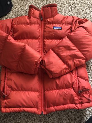 Boys Patagonia coat perfect condition medium / 10 for Sale in Spring, TX