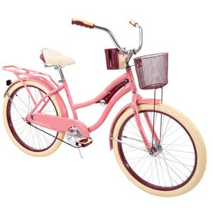 "Huffy 24"" Nel Lusso Girls' Cruiser Bike, Pink Blush Powder for Sale in Mokena, IL"