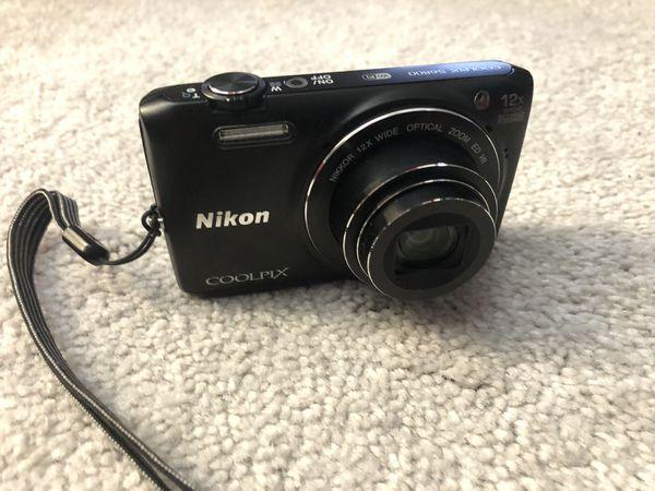 Nikon COOLPIX S6800 16.0MP Digital Camera - Black