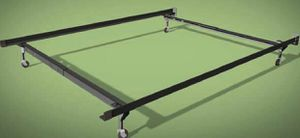 Used twin/full metal bed rails for Sale in Detroit, MI