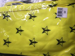Medium Yellow Jeffree Star top and bottom jump suit for Sale in Buena Park, CA