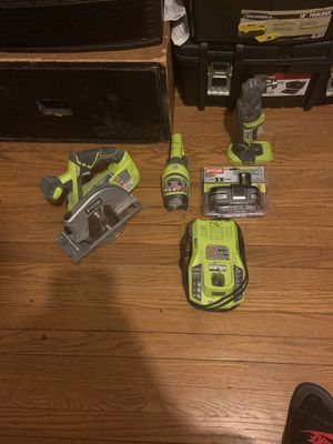 Ryobi power tools 18v for Sale in Columbus, OH