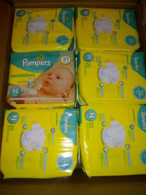 Newborn Pampers diapers for Sale in Homestead, FL