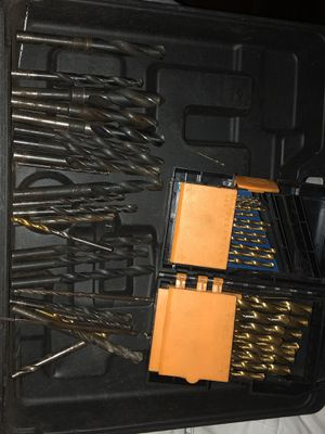 Lot of over 300 mixed drill bits,nut drivers etc for Sale in Myrtle Beach, SC