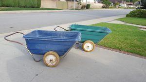 Really big wheel barrels for Sale in La Verne, CA