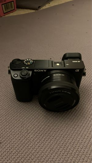 Sony a6000 for Sale in Monterey Park, CA