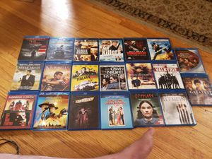 20 blurays great conditon 2 dollars each. for Sale in Bloomington, MN