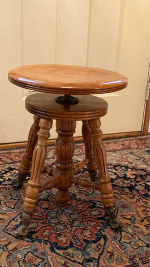 Solid Oak Stool for Sale in Medina, OH
