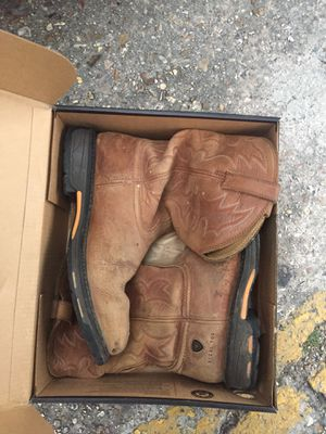 Ariat size 12 EE steel toe work boot. Great shape for Sale in New Orleans, LA