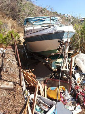 25-foot powerboat dual inboard outboard motors 454 for Sale in El Cajon, CA