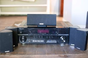 Pioneer HDMI A/V receiver with Polk Audio 5.1 surround for Sale in Phoenix, AZ