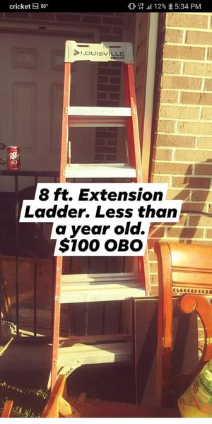 Louisville Extension ladder for Sale in Mount Pleasant, TN