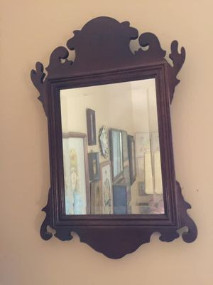 Bombay Co. Wood and Beveled Accent Mirror for Sale in Greer, SC