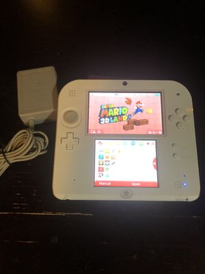 2DS W/ Charger And 1 Game ( Mario 3D Land) $65. Other games available, message for individual pricing. for Sale in Corpus Christi, TX