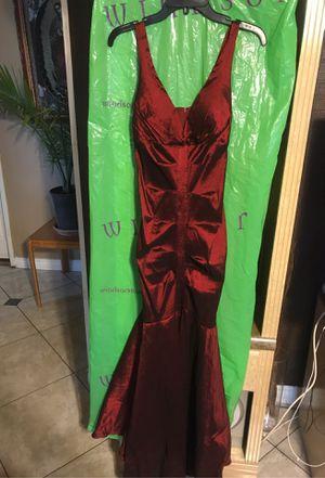 Burgundy mermaid dress for Sale in Riverside, CA