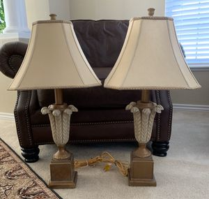 Set of 2 Table Lamps for Sale in Colorado Springs, CO