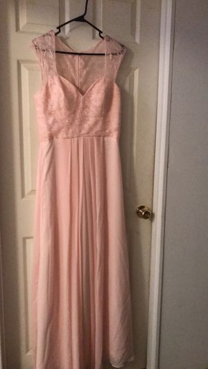 Blush pink dress size 10 for Sale in Portland, OR