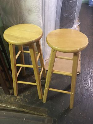 PAIR OF 30' BAR STOOLS for Sale in York, PA