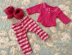 "American Girl Doll ""Fair Isle Pj's"" Outfit for Sale in Denver, NC"
