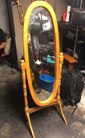 5'10 All Wood Rotating Mirror for Sale in Los Angeles, CA