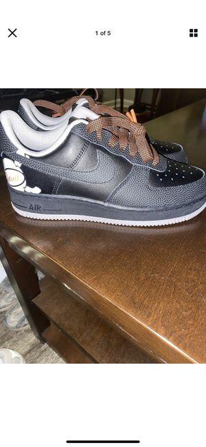 Nike Air Force 1 One Low LV8 Black City Pride Detroit CD7789-001 Men's Size 6 for Sale in Upper Arlington, OH