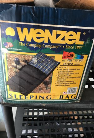 Wenzel sleeping bag... for Sale in Los Angeles, CA