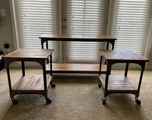 LIMITED SERIES WORLD MARKET TABLE STAND SET for Sale in Manassas, VA