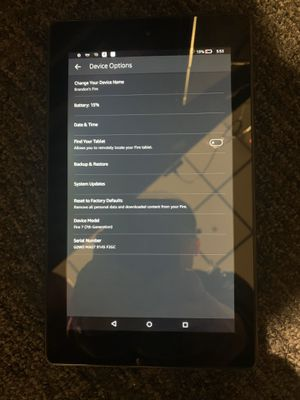 Amazon fire 7 tablet for Sale in Sunnyvale, CA