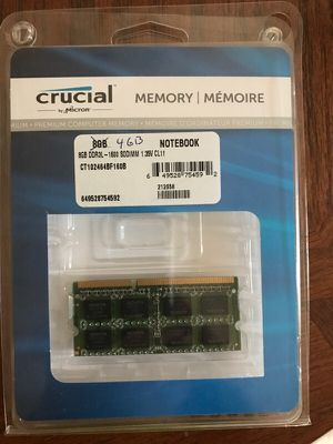 Notebook Ram single 4GB DDR3L-1600 sodimm for Sale in Franklin, TN