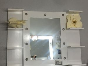 Vanity mirror and shelves for Sale in LAKE MATHEWS, CA
