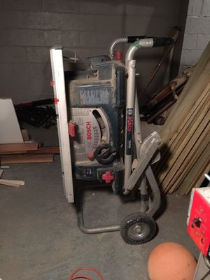 Bosch table saw and stand... for Sale in NJ, US