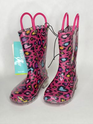 RAIN BOOTS LIGHT UP for Sale in Irvine, CA