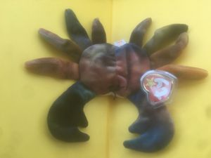 Original Beanie Baby!! Claude the Crab!! for Sale in Sunnyvale, CA