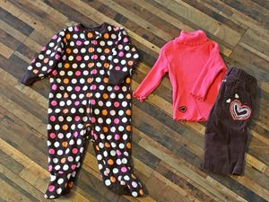 Outfit and fleece pj's for Sale in Peyton, CO