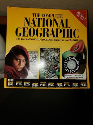 National Geographic CD Collection for Sale in Boynton Beach, FL