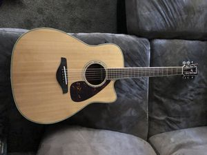 yamaha acoustic guitar fgx730sca for Sale in Fresno, CA