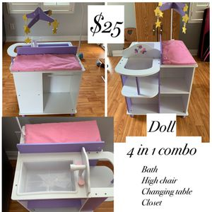 Doll 4 in 1 combo for Sale in Los Alamitos, CA