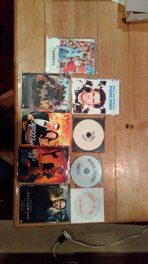 CD MOVIES (9) for Sale in Irvine, CA
