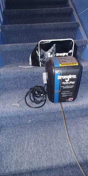 Strong Arm electric winch for Sale in Belleville, MI