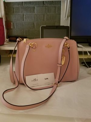 Authentic Coach purse with long strap for crossbody (new with tags) for Sale in Lincoln Acres, CA