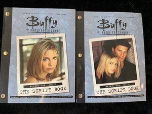 Buffy the Vampire Slayer Season One Vol. 1 & Vol. 2 The Script Books for Sale in Fishers, IN