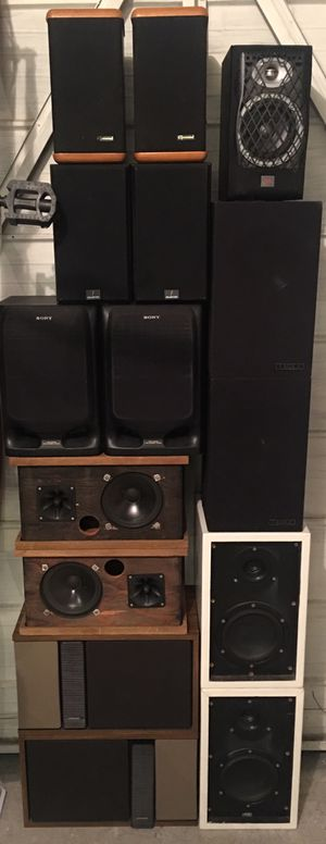 ****SPEAKERS 7 PAIR**** for Sale in Fort Pierce, FL