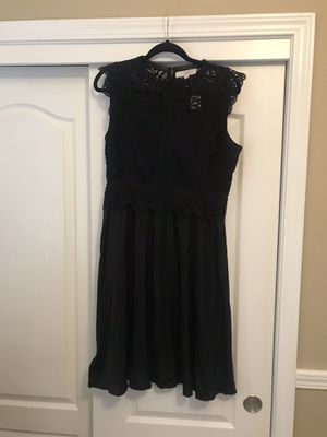 Loft Black Lace Dress $15 for Sale in Fresno, CA