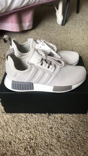 Adidas Womens NMD gray and white NWT for Sale in Troy, MI