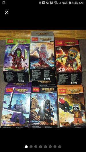 Guardians of the galaxy lego minifigures for Sale in Davenport, FL